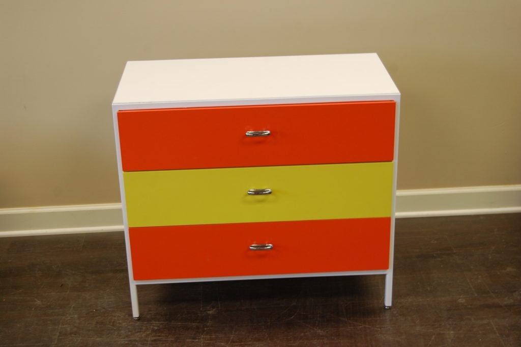 final image of colorful cabinet set