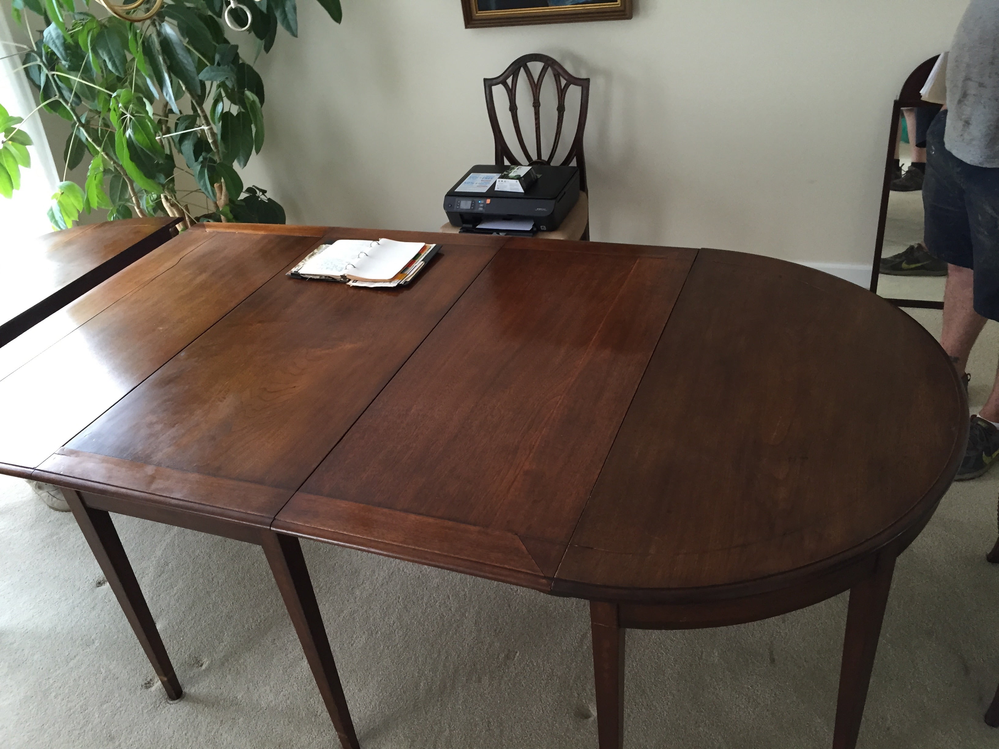 With All The Tables Positives It Was Desperately In Need Of A Full Restoration Gentleman Stated Prior To His Decades Ownership