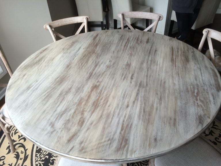 Furniture Refinishing – Don't Buy A New Table, Glaze The One You Own!!