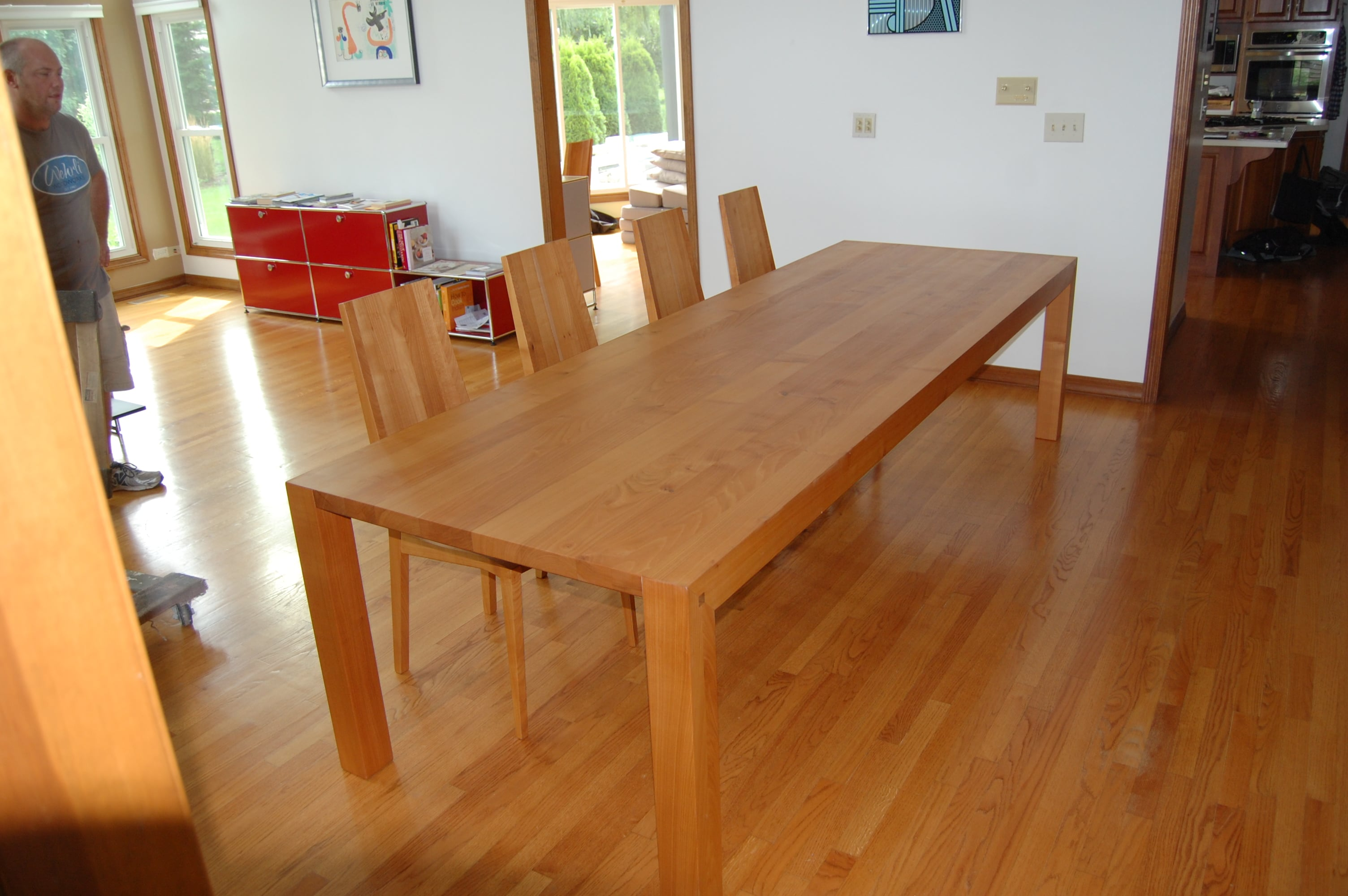 Furniture Refinishing – The Table That Was Sawed In Half!!!