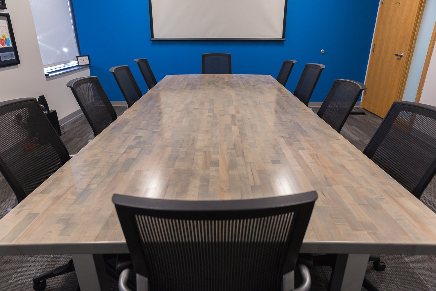 Furniture Refinishing – The Giant Conference Table!!