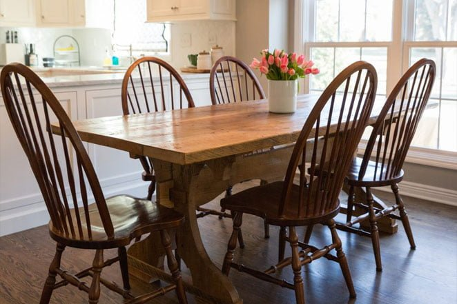 Family Heirlooms: Kitchen Table Refinishing | Wehrli Furniture