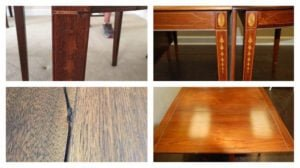 Expert Table Refinishing
